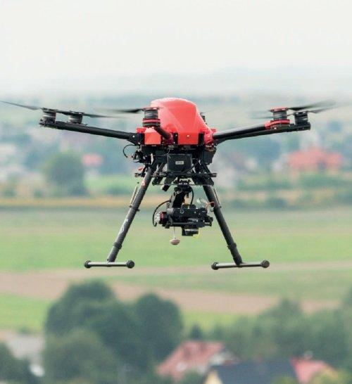 DRON – Profesjonalny system bezzałogowy GRYF