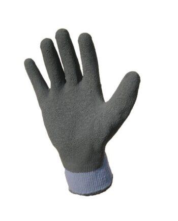 Rękawice bawełniane powlekane lateksem GRAFIT