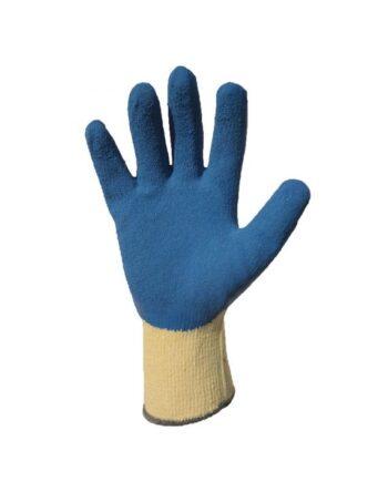 Rękawice dziane bawełniane powlekane lateksem TURKUS