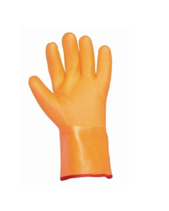 Rękawice powlekane PCV, pokryte warstwą PU FLAMINGO