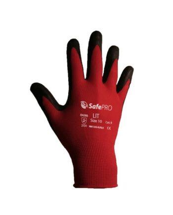 Rękawice lateksowe LIT SAFEPRO KAT II