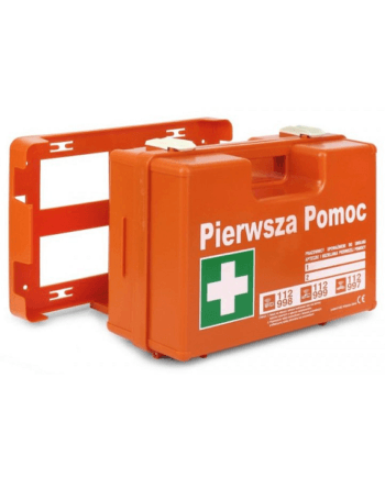 Apteczka DIN 13164 pierwszej pomocy pomarańczowa