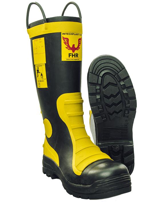 Buty strażackie gumowe FHR 003