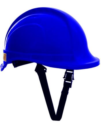Hełm ochronny TYTAN typ HOT 101.00, kolor niebieski