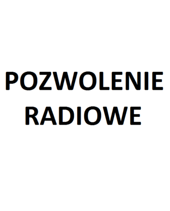 Pozwolenie radiowe