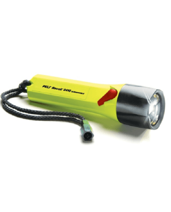 latarka LED Peli 2410 nahełmowa