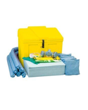 Zestaw magazynowy Storage 110, sorbenty tylko do oleju Industry, 81 l