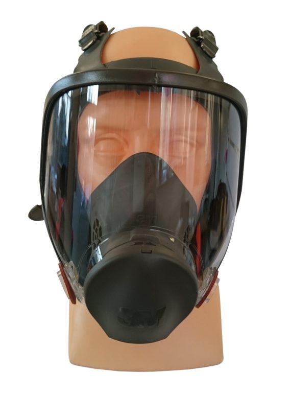 Maska PEŁNA Gazowa LAKIERNICZA 3M™ serii 6000