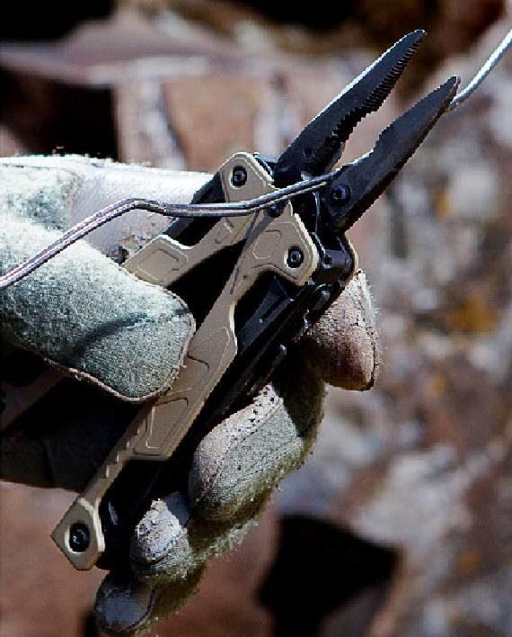 leatherman OHT ciecie drutu 5